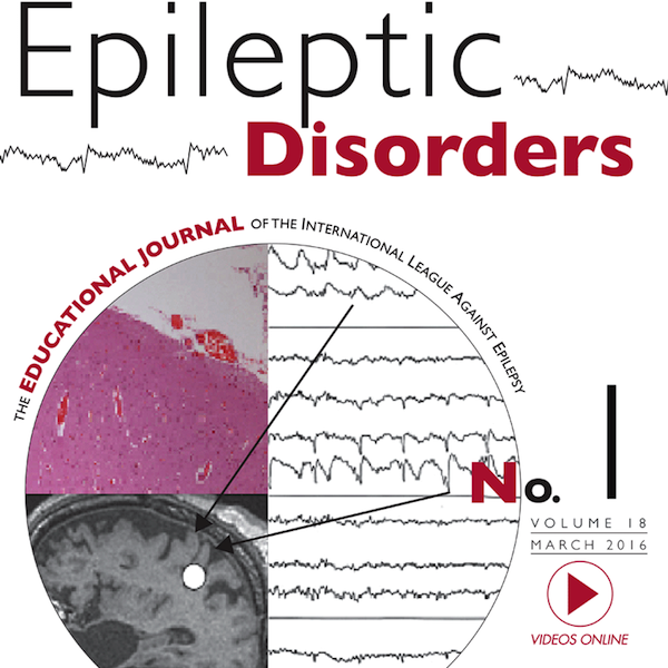 Epileptic Disorders – A Journal of the ILAE